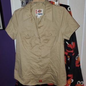 Dickies Ladies Durable Construction Camp Shirt S